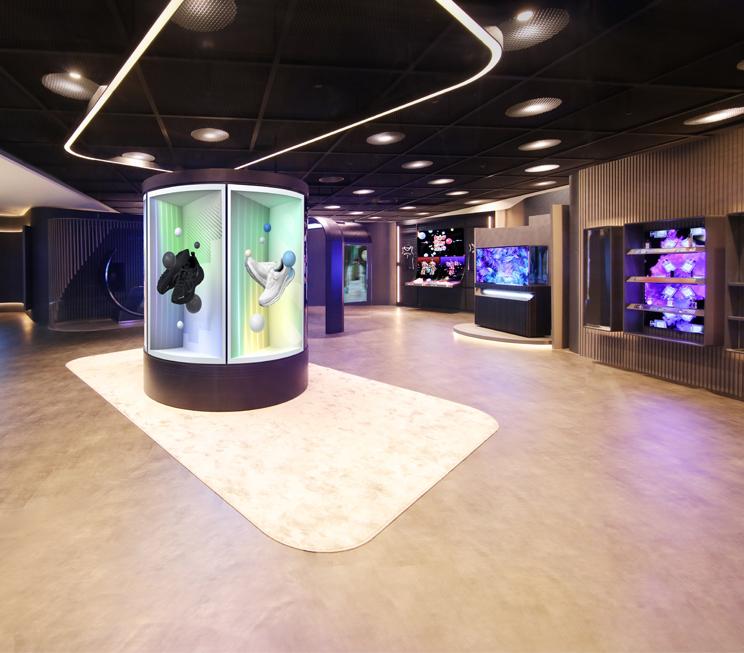 OIF 2021: OLED가 제시하는 미래의 쇼핑존